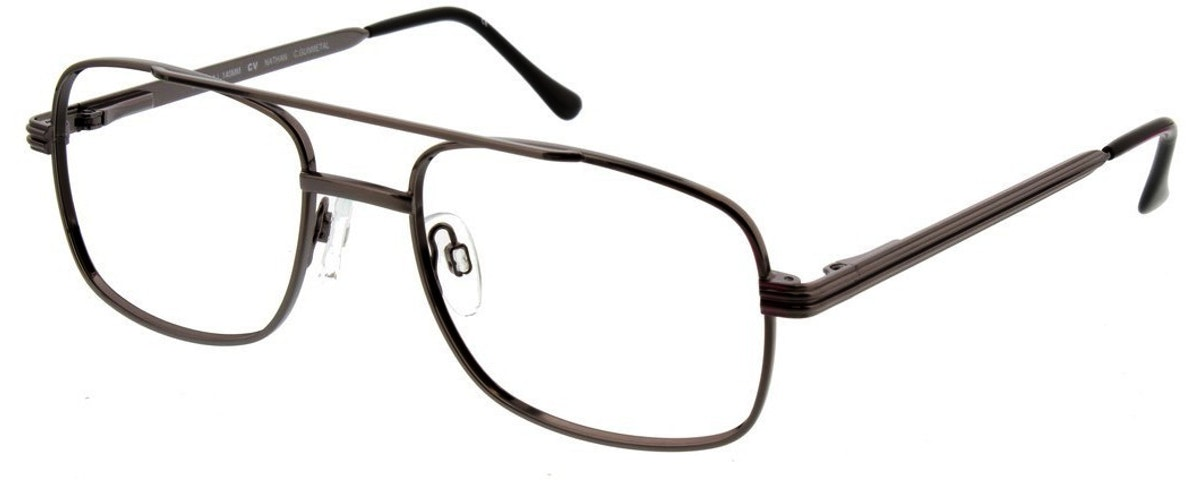 CLEARVISION NATHAN / Gunmetal